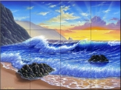 Sunset Break-JW - Tile Mural