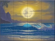 Heavens Light -JW - Tile Mural