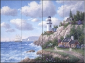 Whitefish Pointe-DL - Tile Mural
