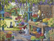 The Potting Shed-NW - Tile Mural
