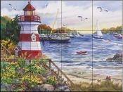 Safe Harbor-NW - Tile Mural