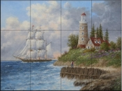 A Passing Voyager-DL - Tile Mural
