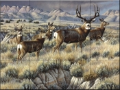 Up From the Coulee-CF - Tile Mural