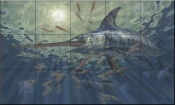 Night Vision-DR - Tile Mural