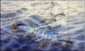 Frequent Flyers-DR - Tile Mural