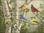 Summer Friends-WV - Tile Mural