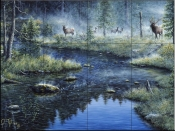 Misty Morning-JT - Tile Mural