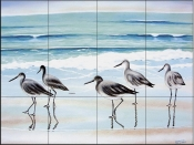 5 Birds-PS - Tile Mural