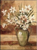 Early Summer Daffodils-DL - Tile Mural
