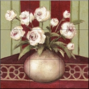 Ragtime Rose-DL - Tile Mural