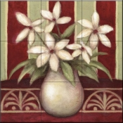 Lively Lily-DL - Tile Mural