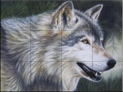 Timber Wolf Dark-CK - Tile Mural
