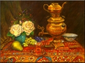 Tea Pot-RK - Tile Mural
