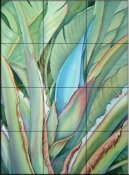 Close up Tropical    - Tile Mural