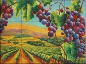 Vineyard-FH - Tile Mural