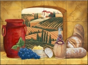Tuscany Window-MT - Tile Mural