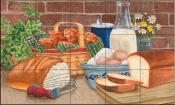 Daily Bread II-MT - Tile Mural