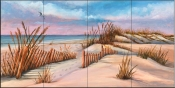 Peaceful Dunes-MT - Tile Mural