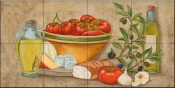 Tuscany Treats II-MT - Tile Mural