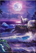 Moonlit Night-CRL - Tile Mural