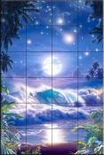 Heavenly Vista-CRL - Tile Mural