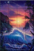 Dawn of Light-CRL - Tile Mural