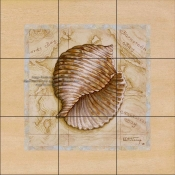Sea Treasures I-JK - Tile Mural