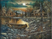 High Country Retreat I-JH - Tile Mural