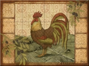 Tuscan Rooster-PB - Tile Mural