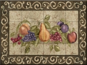 Traditional Fruit I-PB - Tile Mural
