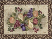 Traditional Fruit II-PB - Tile Mural