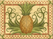 Tropical Delight-PB - Tile Mural