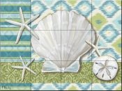 Watercolors Collage-PB - Tile Mural