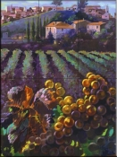 View of Tuscany-CH - Tile Mural