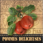 AW-Delicious Apples - Tile Mural