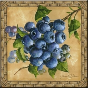 JS - Blueberries - Accent Tile