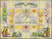 Seasoned with Love-RS - Tile Mural