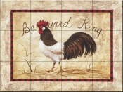 Barnyard King-PTS - Tile Mural