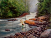 Good Fishing-MS - Tile Mural