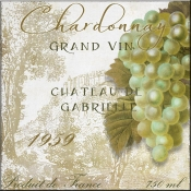 Grand Vin Chardonnay - CB - Accent Tile