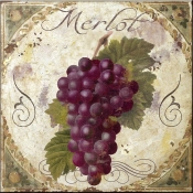 Tuscany Table Merlot - CB - Accent Tile
