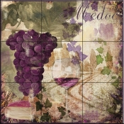 Wine Country IV-CB - Tile Mural