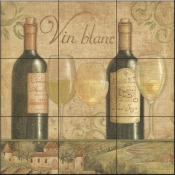 Vineyard Flavor I-DB - Tile Mural