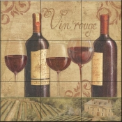 Vineyard Flavor II-DB - Tile Mural