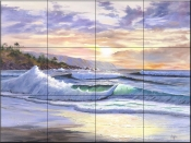 Sunset Cove    - Tile Mural