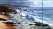 Seascape    - Tile Mural