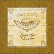 Wine Label 5 Domaine Charlet-FSG - Tile Mural