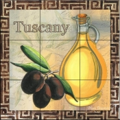 Olive Oil 1-MD - Tile Mural