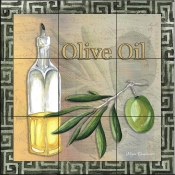 Olive Oil II-MD - Tile Mural