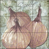 Buon Appetito Red Onions-MD - Tile Mural